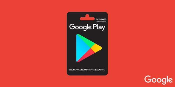 Kartu Hadiah Google Play Tersedia Dua Nominal Baru