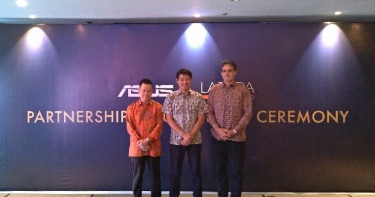 ASUS Gandeng Lazada Indonesia Sebagai Partner Strategis untuk Kembangkan Pasar